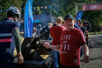 Food Trucks will serve free range beef hamburgers during LtD Gravel Raid